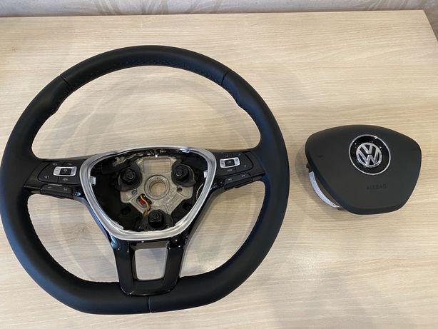 Мультируль с подогревом для VW Golf 7/ Passat B8/ Tiguan 2/ T-Roc.