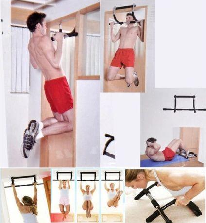Drążek do podciągania, ćwiczenia w domu, domowa siłownia OKAZJA!
