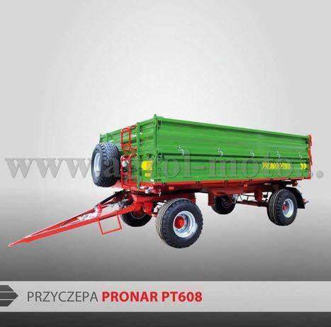 Przyczepa Pronar PT608, ładowności 8t. dostępne inne modele