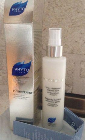 Phyto Phytokeratine odżywka, spray ochronny do włosów zniszczonych