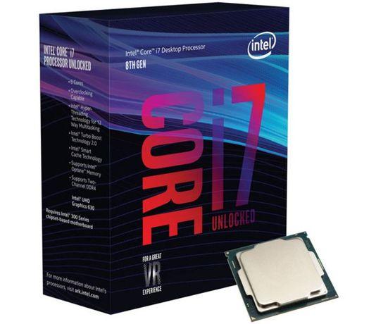 Processador i7 oitava geração i7 8700
