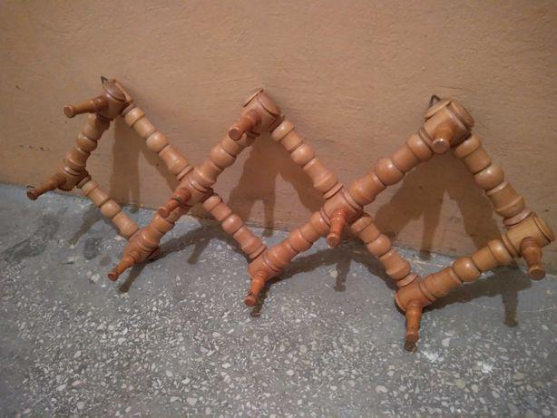 Wieszak drewniany vintage