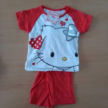Pijama com camisola e calça curta CharmyKitty - 4 anos