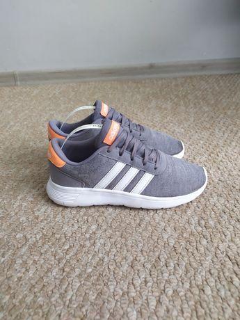 Летние кроссовки Adidas 34 р на мальчика, серые кросовки сетка