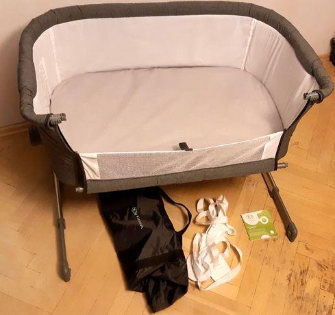 Kinderkraft UNO łóżeczko dostawne / turystyczne + gratisy