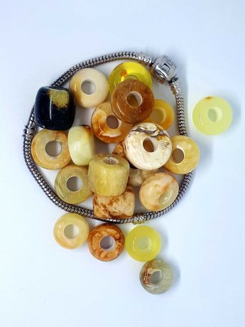 Бусини шарми на браслет пандору