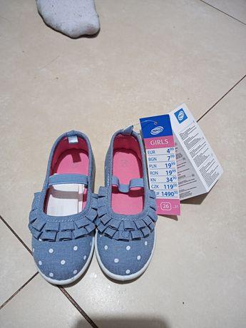 Zamienie buciki dla dziewczynki