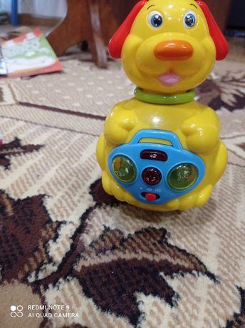 Іграшка собачка музикальна