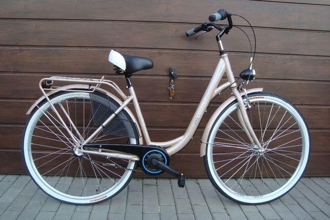 """Rower damski miejski 28"""" NOWY 3 biegi Nexus damka"""