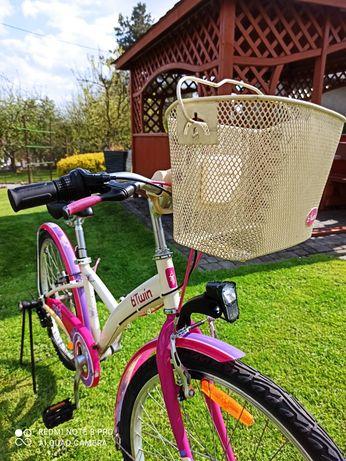 Rower 24 cale z koszyczkiem idealny stan