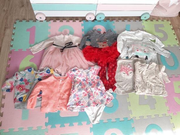 Piękne ubranka dziecięce, stan idealny, rozmiar 74 cm