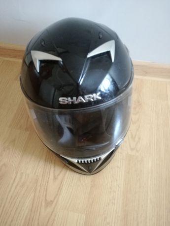 Kask motocyklowy, motor, shark