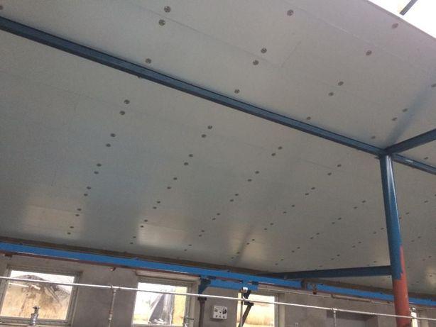 podbitka strop do obory chlewni kurnika ocieplenie sufit pianka dociep