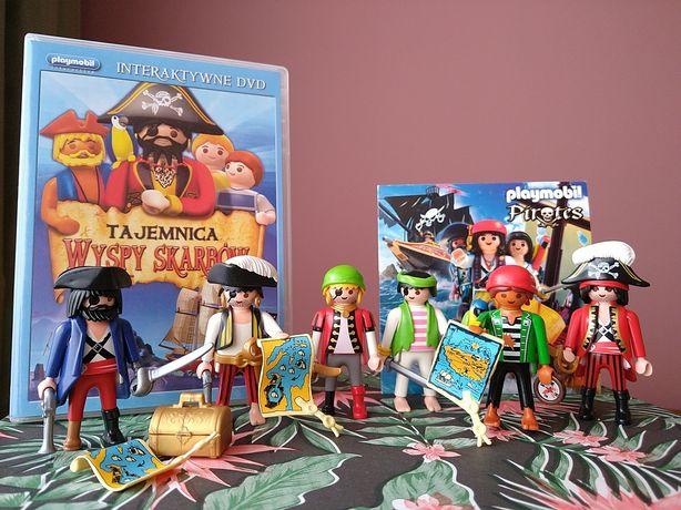 Playmobil piraci figurki i filmy. Mega zestaw.