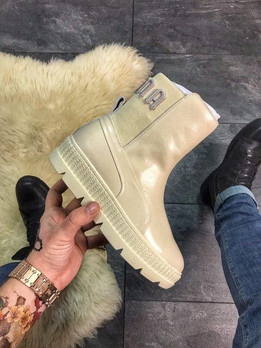 """Ботинки Puma By Rihanna Chelsea Sneakers Boot """"VANILLA ICE""""   женские Киев - изображение 1"""