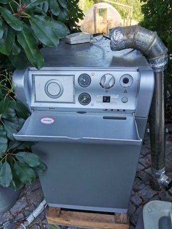 Caldeira a gasóleo, depósito de gasóleo, Tanque de água quente...