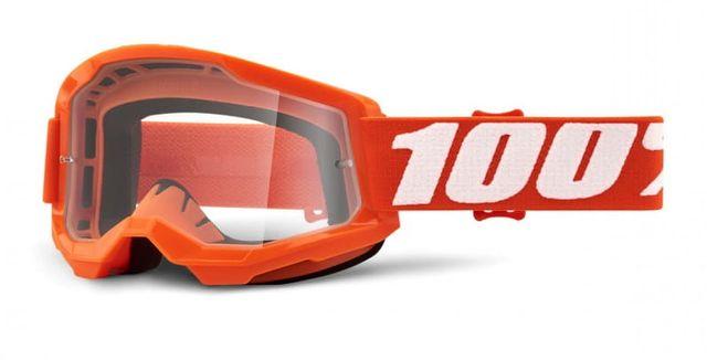 Gogle 100 Procent strata 2 Generation KTM pomarańczowe cross enduro av