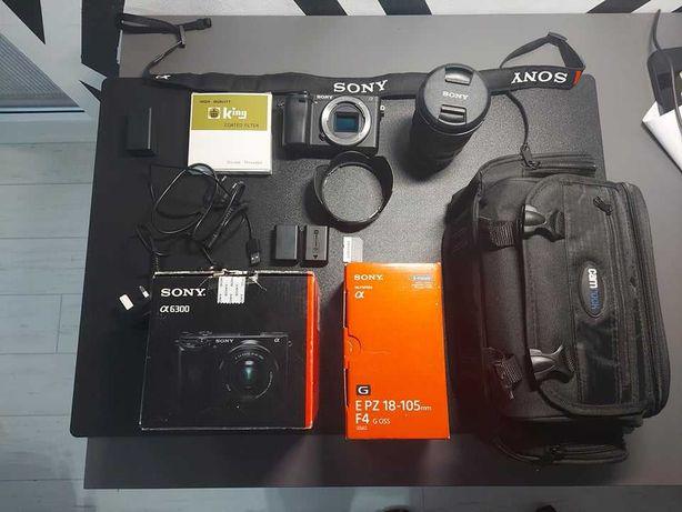 Sony a6300 + obiektyw Sony 18-105 mm (zestaw)