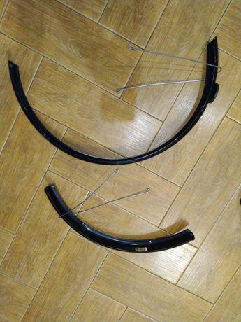 Błotniki rowerowe 24 cale, aluminiowe