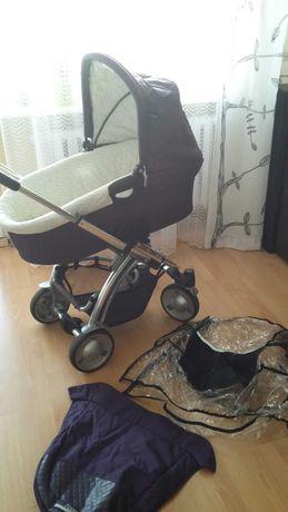 Wózek 2w1 głęboko-spacerowy, z GŁOŚNIKAMI DO MP3, dużo GRATISÓW !!!