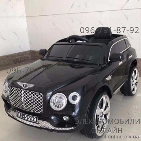 """Детский электромобиль BENTLEY """"Continental"""" (M 3586), кожа, EVA, mp3"""