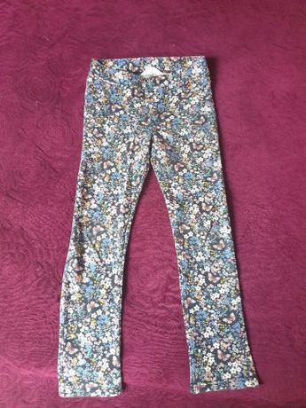 Spodnie jegginsy H&M, 134 cm, 8-9 lat