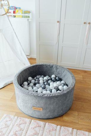 Лучший подарок для ребенка - детский сухой бассейн серого цвета.