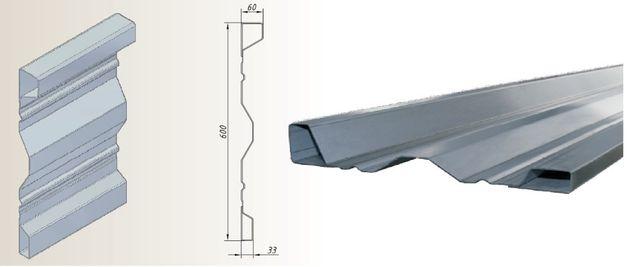 Panel burtowy wysokość 60 cm na każdą przyczepę - najnowszy wzór