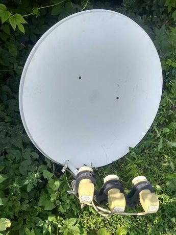 Спутниковая антенна плюс два  ресивера