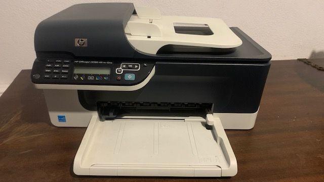 Impressora Multifunções HP Officejet J4580 all-in-One