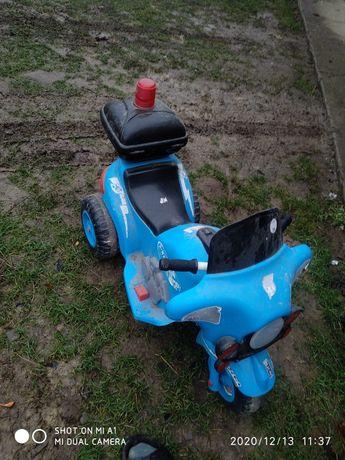Дитячий мотоцикл на акумуляторі