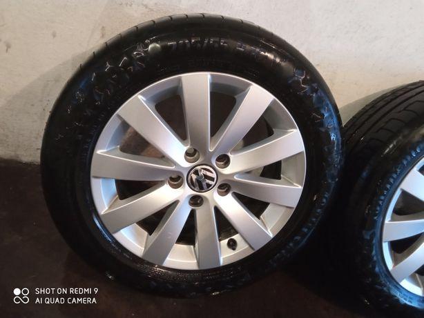 Felgi koła VW 5x112 205/55/16
