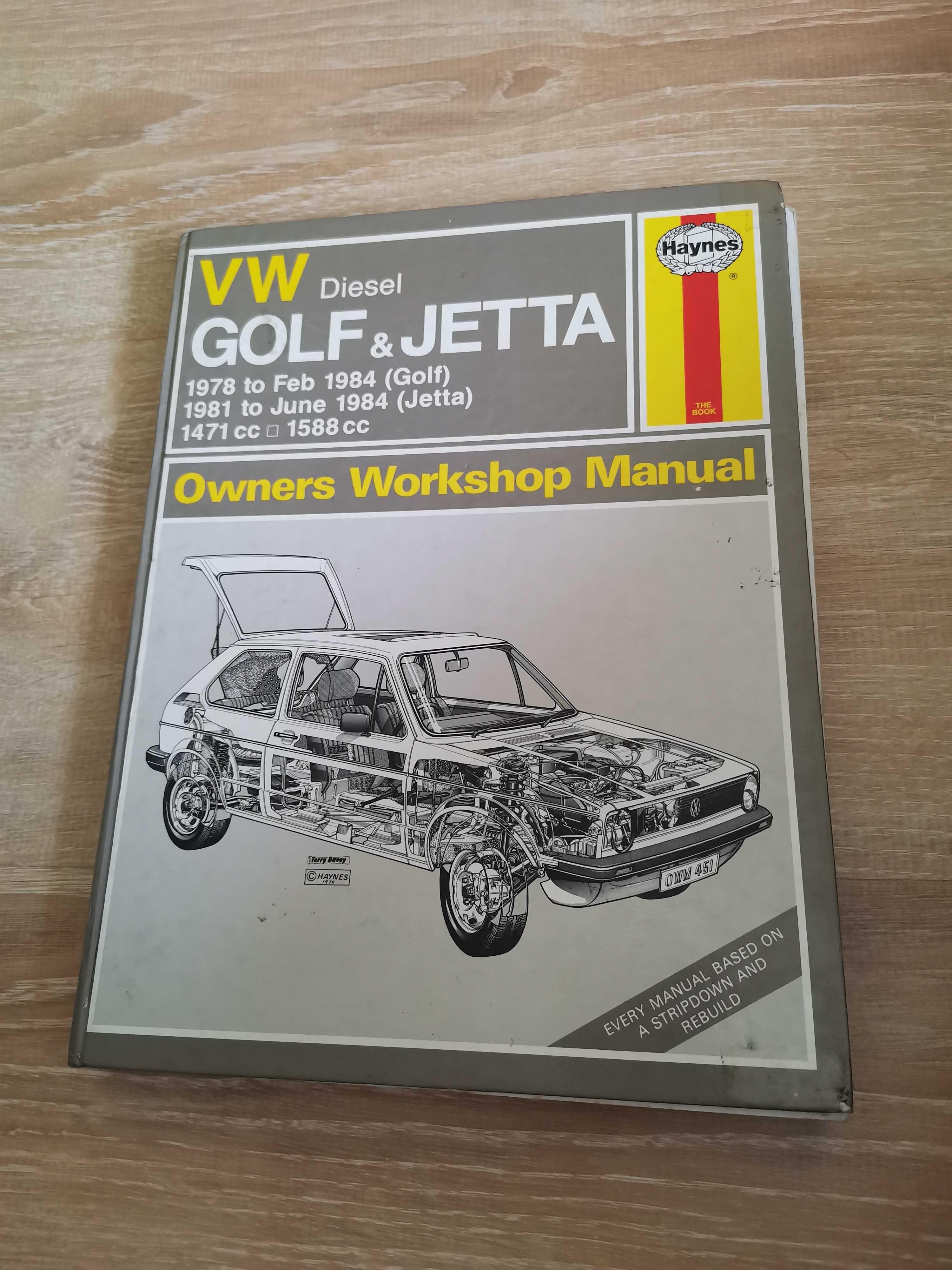 Manual Haynes VW Golf & Jetta Diesel