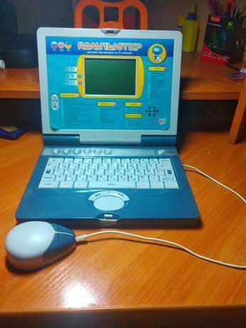 Детский обучающий компьютер на 3х языках