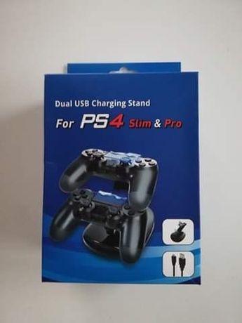 Stacja ładująca ładowarka do kontrolerów PS4 pro/slim