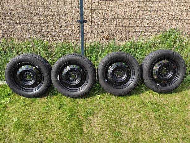 Koła 15 felgi stalowe 4x100 opony Bridgestone Turanza T001 195/60R15