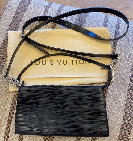 Кожаный клатч Epi Louis Vuitton оригинал