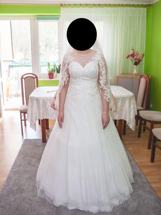 Suknia ślubna 36-40 Olsztyn - image 1