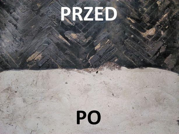 Usuwanie Subitu WARSZAWA Lepiku kleju Zrywanie parkietu płytek PCV