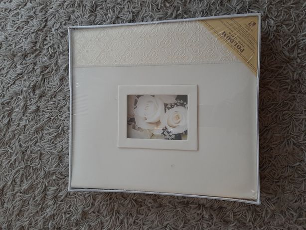 Nowy album ecru do zdjęć ślubnych rozmiar 29x32