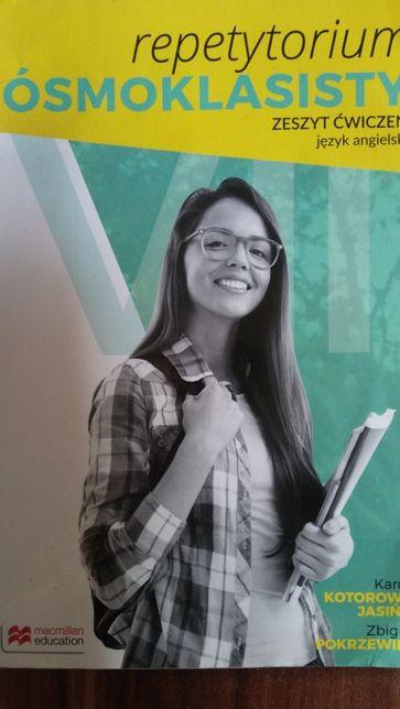 Repetytorium ósmoklasisty zeszyt ćwiczeń do języka angielskiego