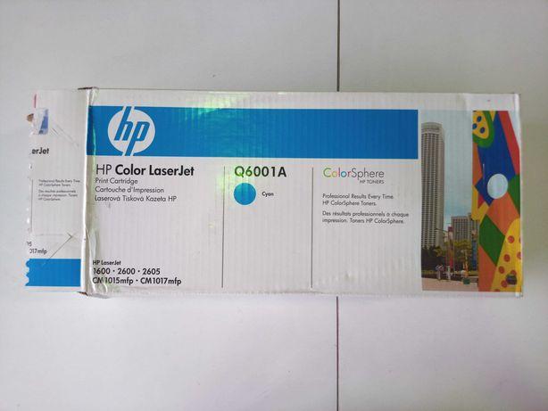 HP Toner Q6001A Cyan (novo/ selado)