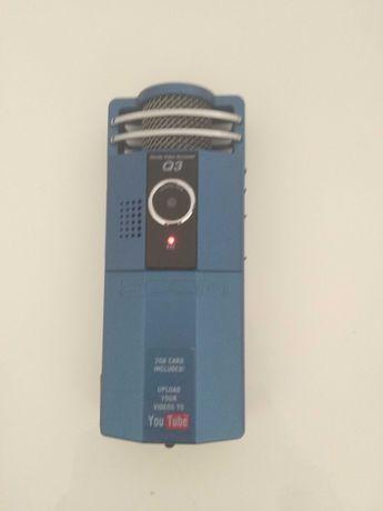 Gravador Zoom áudio e vídeo