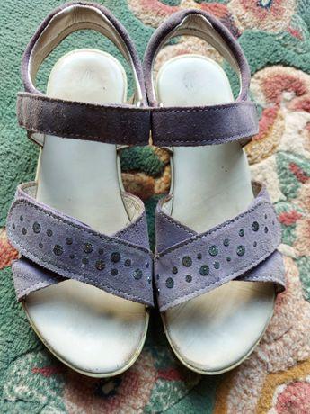 Sandały buty Richter skórzane