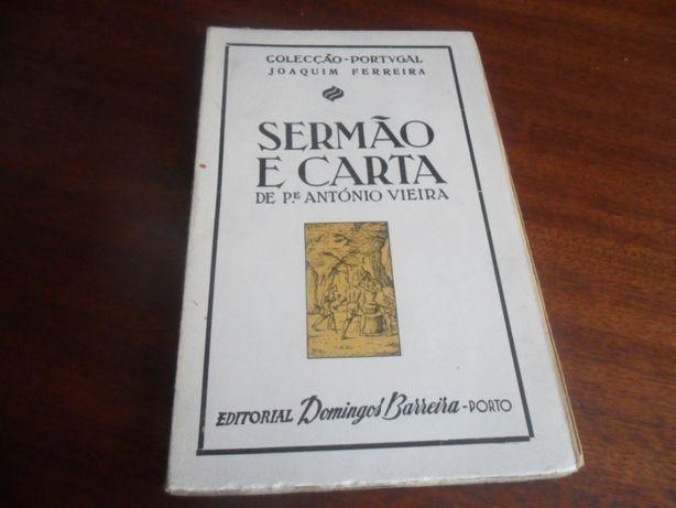 """""""Sermão e Carta"""" de Padre António Vieira"""