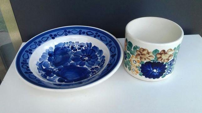 Ceramika/Porcelana Włocławek/filiżanka/półmisek/talerz/osłonka