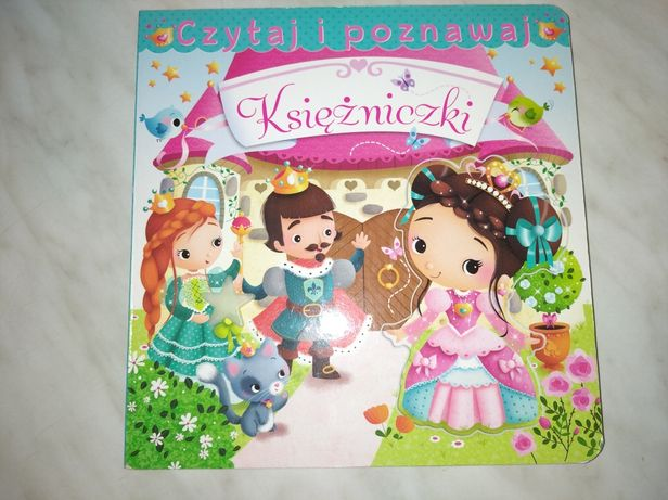 """Książeczka z puzzlami """" Księżniczki"""". Stan idealny."""