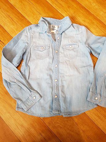 Koszula jeansowa h&m 116