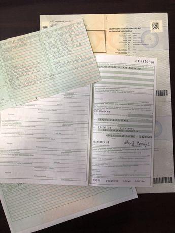 Brief / Dowód rejestracyjny / odzyskanie