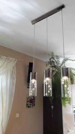 Lampa wisząca sufitowa kryształki, glamour, nowoczesna